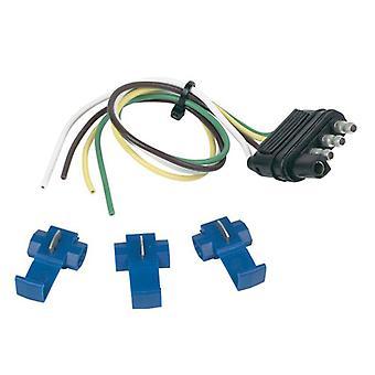 "Hopkins 48165 4 Wire Flat Kit 12"" Car/12"" Trailer"