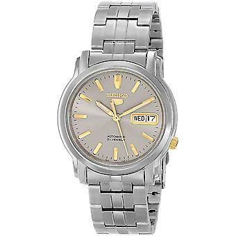 Seiko 5 Gent Watch SNKK67K1 - Stainless Steel Gents Automatic Analogue