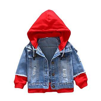 Boy Denim Jackets, Jeans Coat Outerwear Clothing