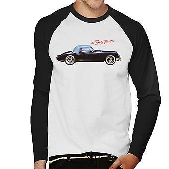 MG Safety Fast British Motor Heritage Men's Baseball Long Sleeved T-Shirt