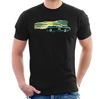Austin Healey 20 Green British Motor Heritage Men's T-Shirt