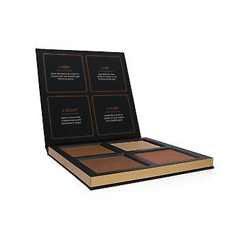 Huda Beauty 3D Highlighter Palette (4x Highlighter) - # Bronze Sands 30g/1.05oz