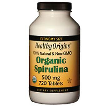 Healthy Origins Spirulina, 500 mg, 720 Tabs