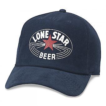 כוכב בודד בירה כובע קורדרוי מודפס