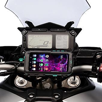 Galaxy s9 s9 + moottoripyörä vedenpitävä tapauksessa alkuun puristin mount
