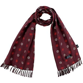 """Ties Planet Tootal """"battle Of The Roses"""" Burgundy Yorkshire & Lancashire Rose Men's Mod Thin Scarf"""