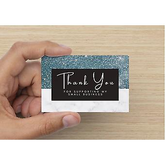 """thank You For Supporting My Small Business"" Card"
