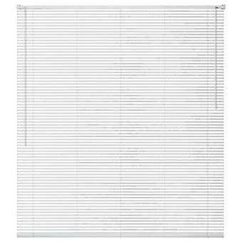 Window blinds aluminium 140x130 cm White