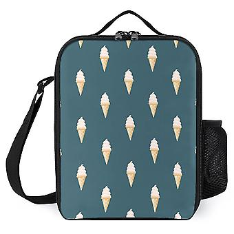 Summer Ice Cream Cone Pattern  Printed Lunch Bags