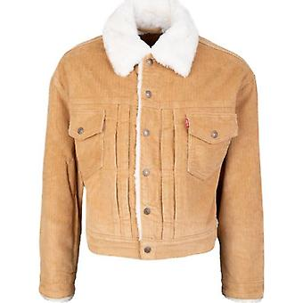 Levi's Red Tab Heritage Shearling Cord Trucker Jacket