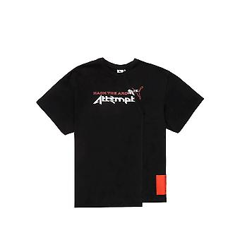 Puma X Attempt 59827501 t-shirt universale tutto l'anno uomo