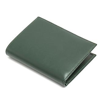 Dnero Kniha Peněženka v měkké zelené kůže
