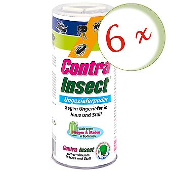 Sparset: 6 x FRUNOL DELICIA® Contra Insect® Ungeziefer-Puder, 250 g