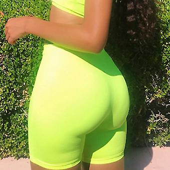 Women High Waist Fitness Sports, Biker, Jogging Skinny Soft Elastic Stretch