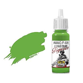 Ammo by Mig Figure Paints F-528 Pure Green