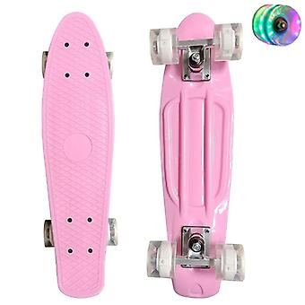Fish Board Mini Cruiser Skateboard, Scooter, Longboard Skate, Retro Penny Wheel