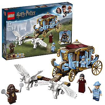 Lego 75958 carrozza Harry Potter Beauxbatons'Äô: arrivo a hogwarts set con 2 figure di cavalli, multi