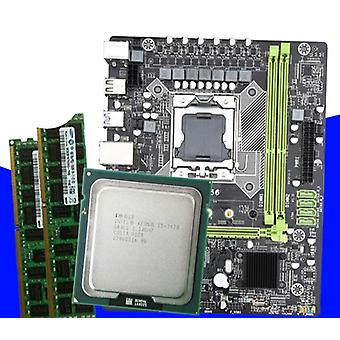 X9a Motherboard Set With Xeon Lga 1356 E5 2420 C2 2x4gb=8gb 1333mhz Ddr3 Ecc