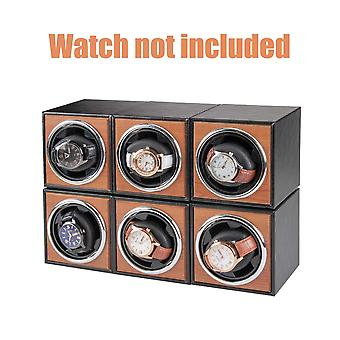 Single Watch Winder Rotation Mode Storage Organizer Home Super Quiet Usb Cable