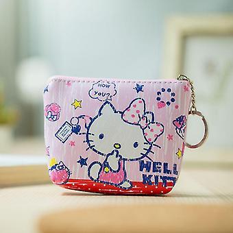 Disney Cartoon Purse, Mickey Mouse Coin Bag,,, Handbag, Storage Key Pendant Kid