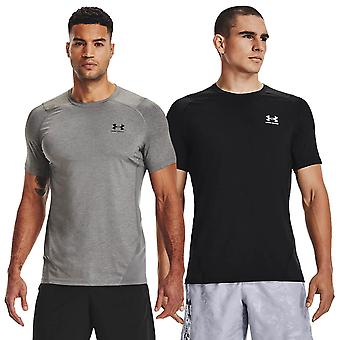 Under Armour Mens 2021 HeatGear Armour Umidade Wicking Short Sleeve T-Shirt