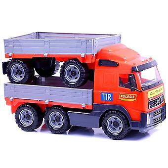 Volvo Polesie leksak tranposrt lastbil med vagn