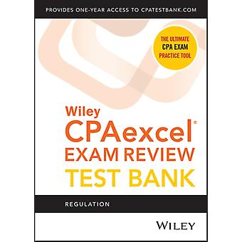 Wiley CPAexcel Exam Review 2021 Test Bank Regulation 1year access by Wiley