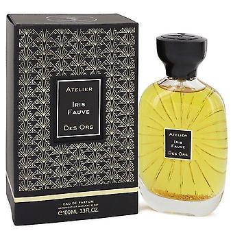 Iris Fauve Eau De Parfum Spray (Unisex) By Atelier Des Ors 3.3 oz Eau De Parfum Spray
