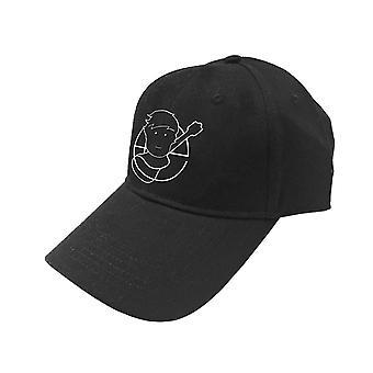 Ed Sheeran Baseball Cap Pictogram Logo new Official Black Unisex