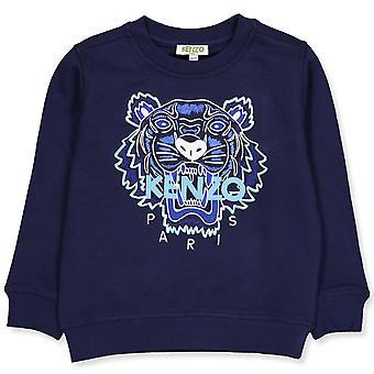 Kenzo pojat laivaston sininen tiikeri collegepaita kq15678