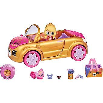 HAPPY PLACES HAP34000 Flair Shopkins Royal Trends Car Playset, Multicolour