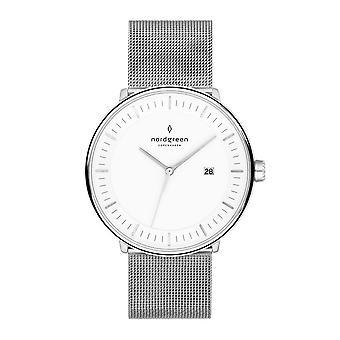Nordgreen Ph36simesixx White Dial Unisex Analog Watch