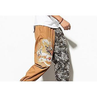 Harajuku Streetwear Loose Cotton Bottom Trousers
