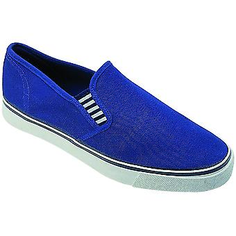 Group Five Yachtmaster Gusset / Mens Trainers / Plimsolls