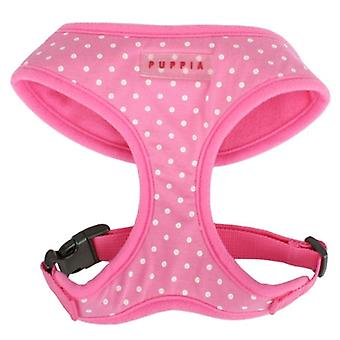 Puppia Dotty A Harness Pink (Dogs , Collars, Leads and Harnesses , Harnesses)