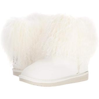 Bearpaw Womens Boo Leather Closed Toe Mid-Calf Fashion Boots