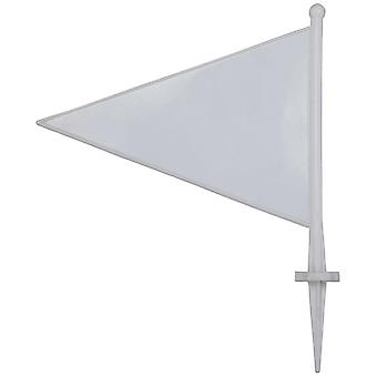 Kookaburra boundary flags white