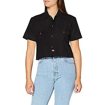 Dickies Silver Grove Shirt T, Black, 42 (One Size: Medium) Woman