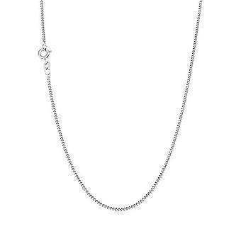 アモール - コリアーユニセックス、シルバースターリング925、織りメッシュ、60センチメートル