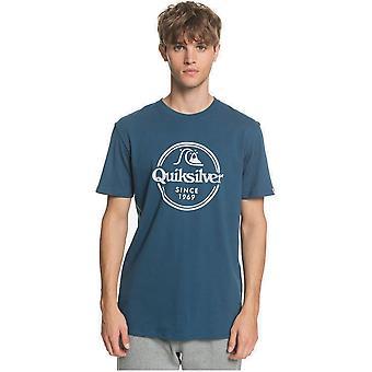 Quiksilver Ord förblir kortärmad T-shirt i Majolica Blue