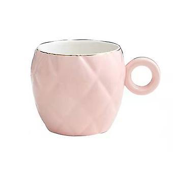 Concave-Convex Ceramic Mug