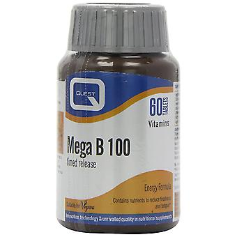 Quest B Complex Timed Release, 60 Tablets