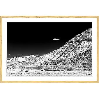 Affiche madeinspain canyon los bardenas