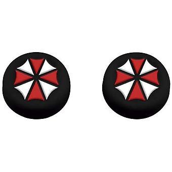 FR-TEC Resident Evil Umbrella PS4 contrôleur skin et thumbgrip combo set