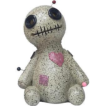 Left voodoo doll incense cone burner desktop resin ornament for home decration cai1391