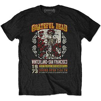 Grateful Dead - San Francisco Unisex Small T-Shirt - Noir