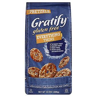 Gratify Prtzl Evertyhing Thins Gf, Boîtier de 6 X 10,5 Oz