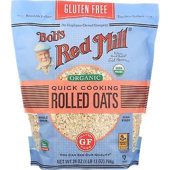 Bobs Red Mill Havre Rullad Gf Qk Cook Og, Fall av 4 X 28 Oz