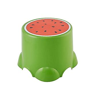 חמוד נמוך שרפרף יצירתי תבנית פירות מעובה כיסאות ילדים Footstool אמבטיה כיסא אמבטיה חי