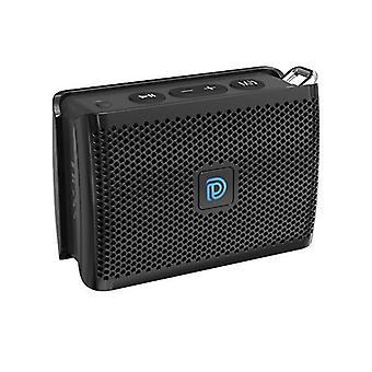 Doss Genie Black Mini Bluetooth Speaker